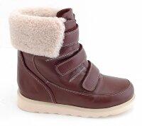 5c4eb4069 Ботинки Сурсил-Орто детские ортопедические зимние из натуральной кожи и  меха, жесткий задник,