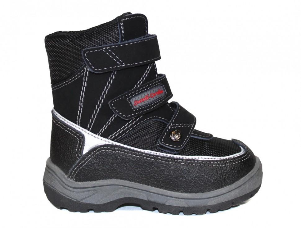 825949ef7 Ботинки Сурсил-Орто детские ортопедические зимние из натуральной кожи и  меха, А43-070
